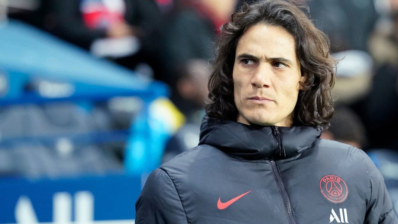 Cavani estaria na mira do Atlético-MG