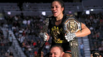 Amanda Nunes será a lutadora mais forte do UFC 4 - GettyImages