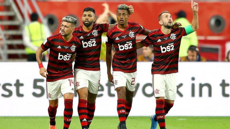 Resultado de imagem para Flamengo vence Al Hilal e está na final do Mundial de Clubes 2019