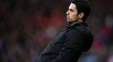 Arteta substituiu Unai Emery no comando do Arsenal - Getty Images