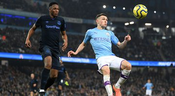 A partida entre Everton e Manchester City foi adiada - Getty Images