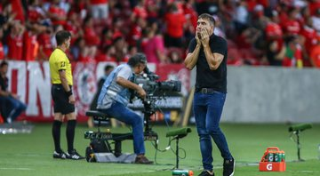 Eduardo Coudet, treinador do Internacional - GettyImages