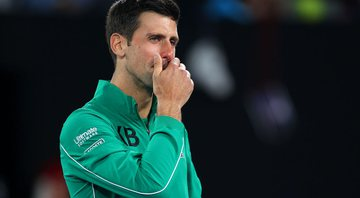 Djokovic homenageia Kobe Bryant e se emociona - GettyImages
