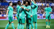 Real Madrid visitou o Real Sociedad, no estádio Anoeta - GettyImages