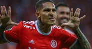Paolo Guerrero, atacante do Internacional - GettyImages