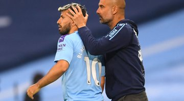 Aguero e Pep Guardiola - GettyImages