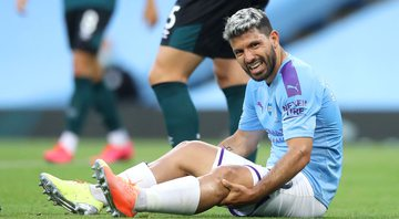 Aguero, atacante do Manchester City - GettyImages