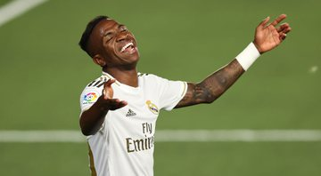 Vinicius Jr, atacante do Real Madrid - GettyImages