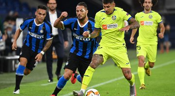 Inter de Milão vence Getafe e abre boa vantagem na Europa League - Getty Images