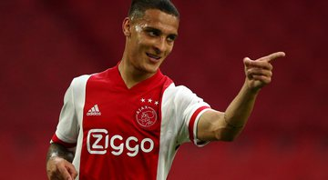 Antony, atacante do Ajax - GettyImages