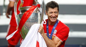 Robert Lewandowski, atacante do Bayern de Munique - GettyImages