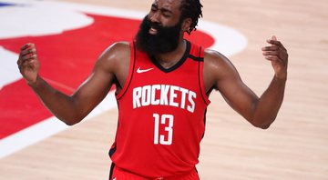 James Harden não tem planos de permanecer no Houston Rockets - Getty Images