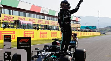 Hamilton conquista pole position no GP da Toscana - GettyImages