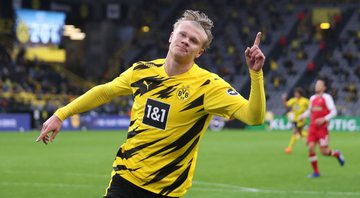 Erling Haaland foi eleito o Golden Boy de 2020 - Getty Images
