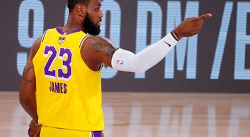 Lebron James foi o nome da partida 4 das finais da NBA - Getty Images