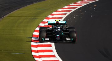 Bottas supera Hamilton e conquista pole position para o GP de Eifel - GettyImages
