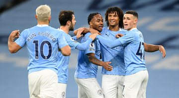 Sterling foi o autor do único gol da partida e garantiu a vitória do Manchester City - Getty Images