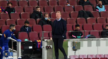 Koeman é treinador do Barcelona - GettyImages