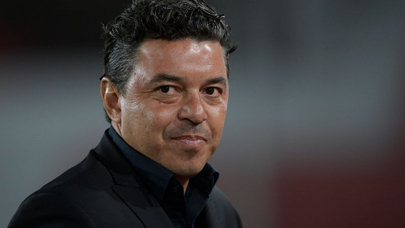 Marcelo Gallardo, treinador do River Plate