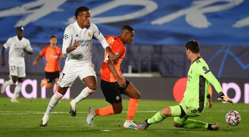 Real Madrid e Shakhtar Donetsk duelaram na Champions League - GettyImages