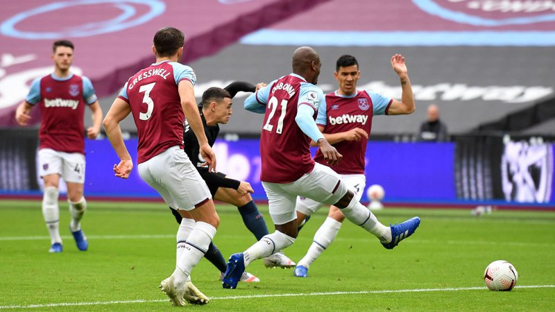 West Ham e Manchester City se enfrentaram na Premier League