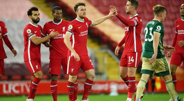 Liverpool e Sheffield United agitaram a rodada da Premier League - GettyImages