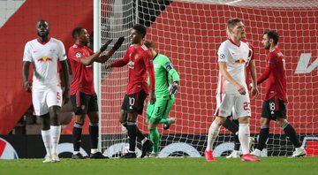 Manchester United goleou o RB Leipzig - GettyImages