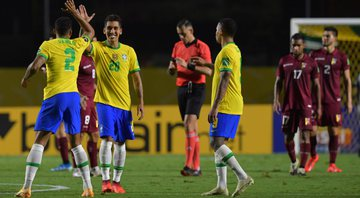 Brasil vence a Venezuela e segue 100% nas Eliminatórias para a Copa do Mundo - GettyImages