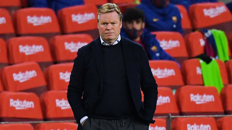 Koeman segue tentando engrenar no comando do Barcelona
