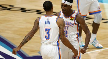 Oklahoma City Thunder bate Spurs e sonha com possibilidades de ir aos Playoffs - Getty Images