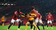 Manchester United e Wolverhampton agitaram rodada da Premier League - GettyImages