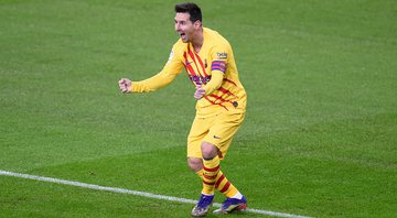 Messi decide e Barcelona entra no G4 do Campeonato Espanhol - Getty Images