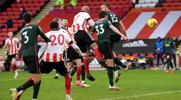 Sheffield United e Tottenham agitaram rodada da Premier League - GettyImages