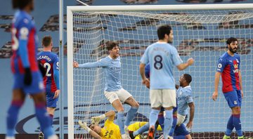 Manchester City e Crystal Palace duelaram na Premier League - GettyImages