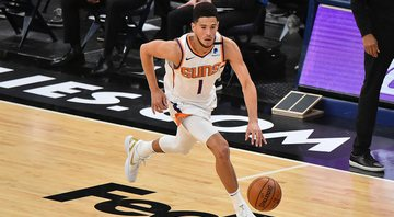 NBA confirma que Devin Booker substituirá Anthony Davis no All-Star Game - GettyImages