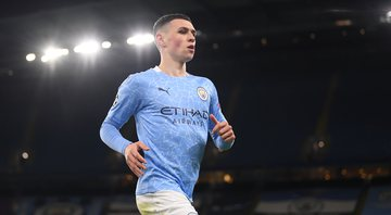 Phil Foden marcou o gol da vitória do Manchester City, no final - Getty Images