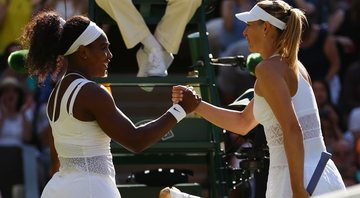 Serena Williams e Maria Sharapova (Crédito: Getty Images)