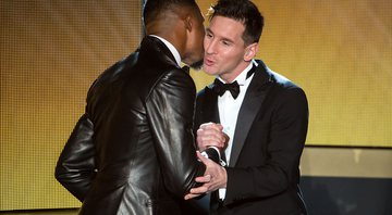 Lionel Messi e Samuel Eto'o - GettyImages
