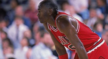 Michael Jordan é o maior ídolo do Chicago Bulls e do basquete mundial - GettyImages