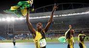 Usain Bolt comandou o ouro do revezamento jamaicano no 4x100 m - Cameron Spencer/Getty Images