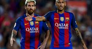 Neymar Jr supera Messi - Getty Images