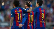 Trio 'MSN' assombrou o mundo do futebol - GettyImages