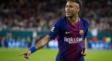 Neymar no Barcelona - GettyImages