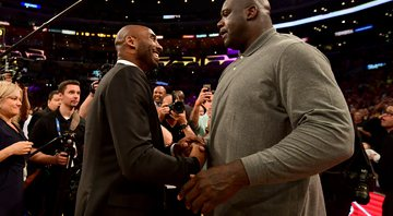 Kobe Bryant e Shaquille O'Neal (Crédito: GettyImages)