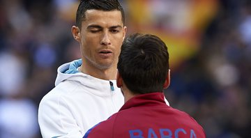 None - Cristiano Ronaldo e Messi (Crédito: GettyImages)