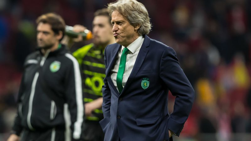 Jorge Jesus no comando do Sporting