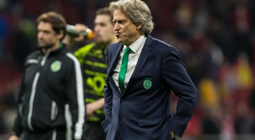 Jorge Jesus no comando do Sporting - GettyImages