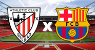 Athletic Bilbao e Barcelona se enfrentam pela final da Copa do Rei 20/21 - Getty Images
