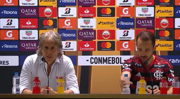 Jorge Jesus exalta torcida do Flamengo - Youtube