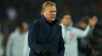 Ronald Koeman, treinador do Barcelona - GettyImages
